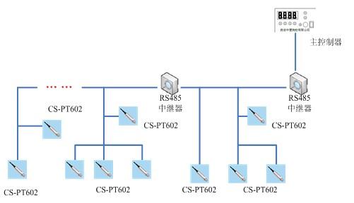 cs-npt2000压力测量系统示意图