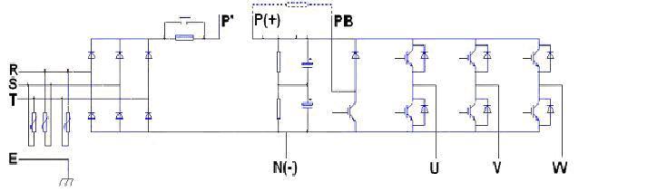 变频器主回路电路图资料