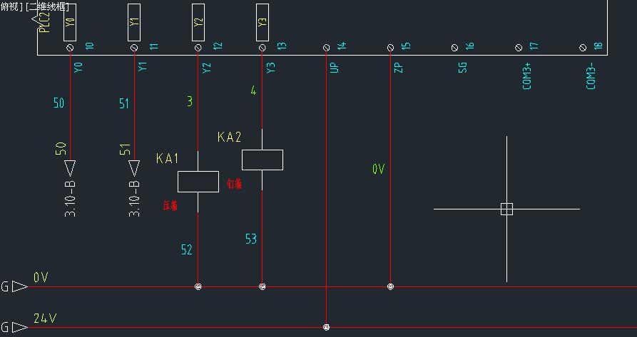 台达dvp-12sa2的plc这样接线可以吗?