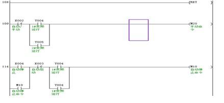 变频器一拖三显示器控制电路图
