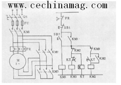 三相笼型异步电动机的y—Δ降压起动控制